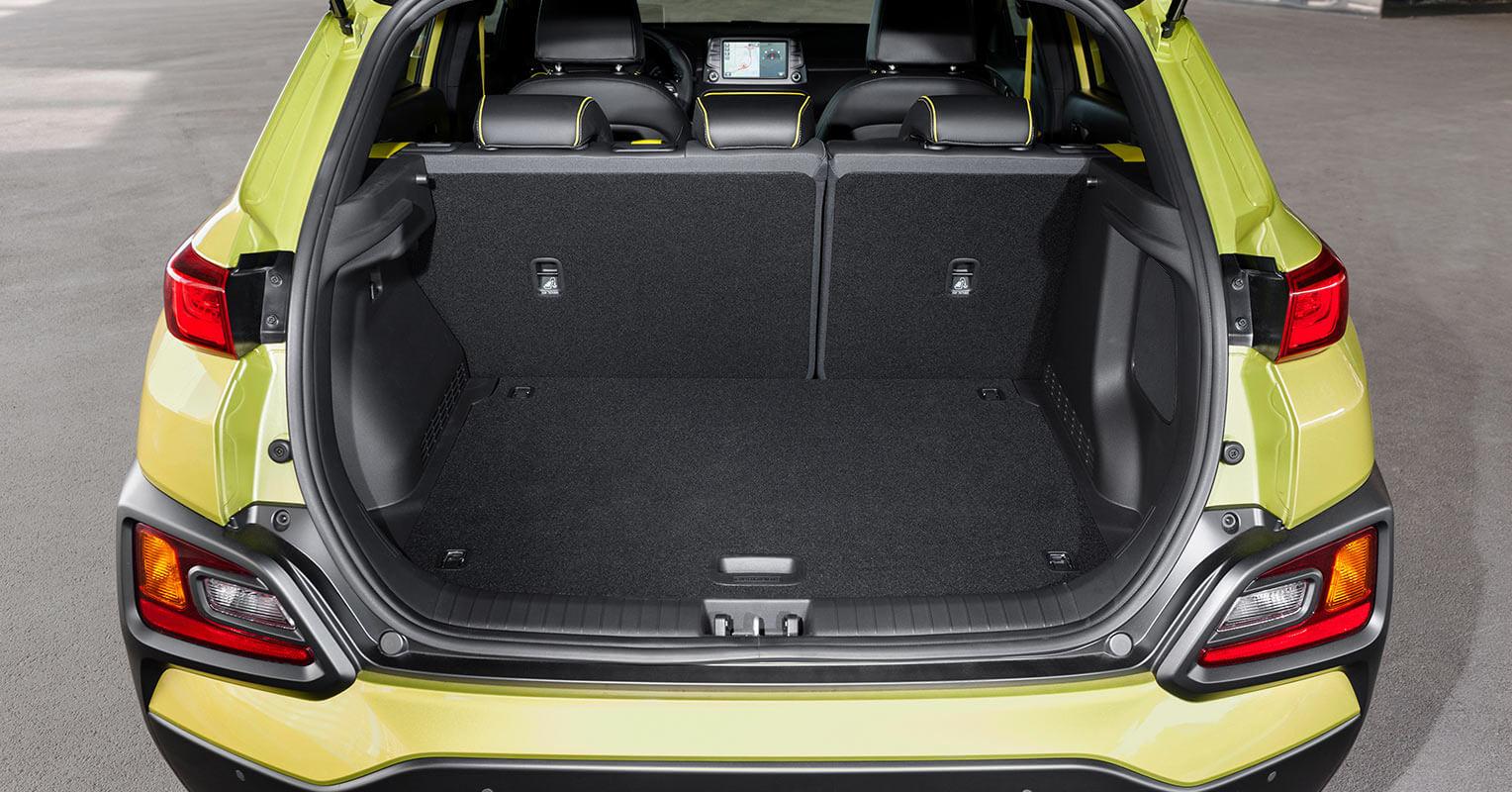 Hyundai Kona maletero