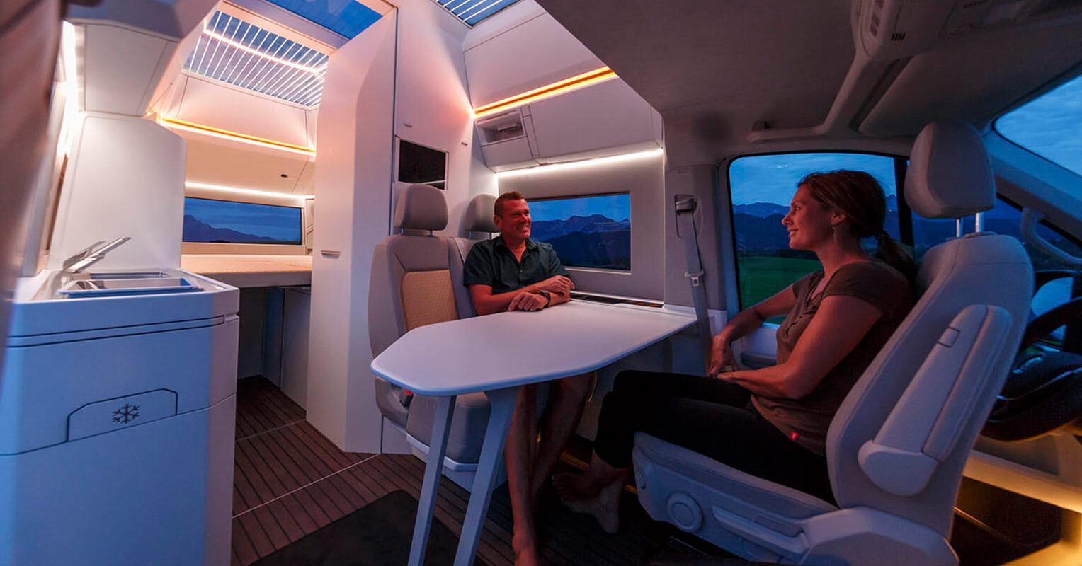 Volkswagen California XXL interior