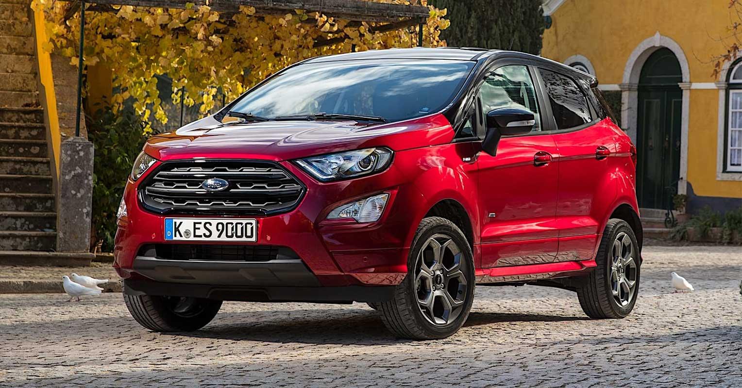 Interior Maletero Y Medidas Del Ford Ecosport 2018