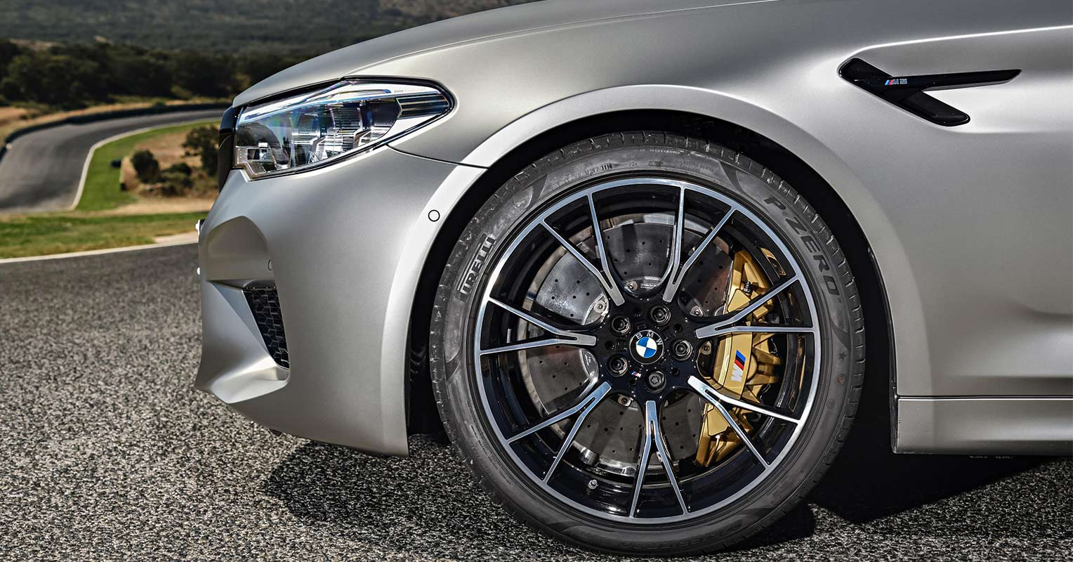 Frontal del BMW M5 Competition 2018