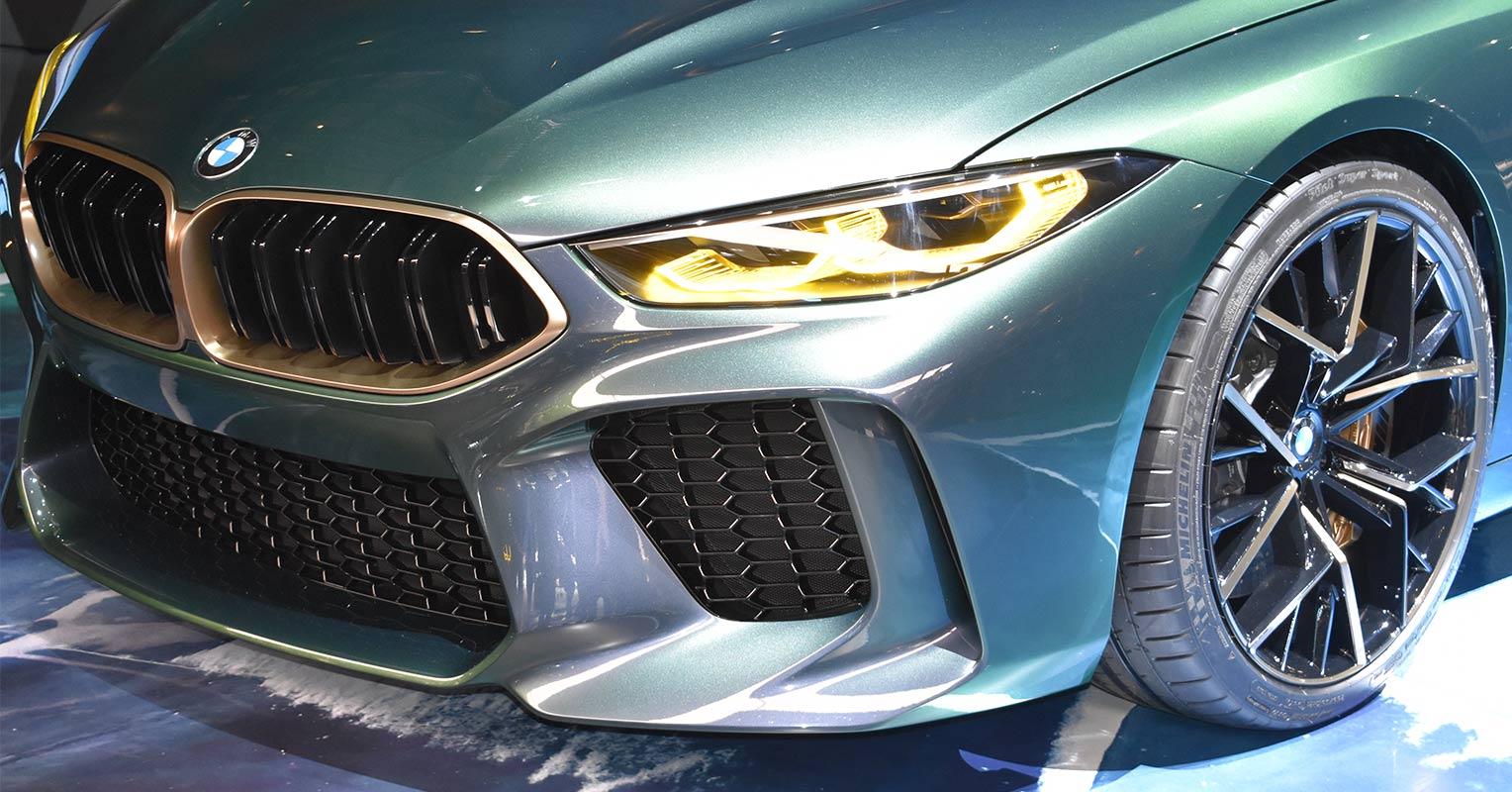 Frontal del BMW Serie 8 Gran Coupé Concept