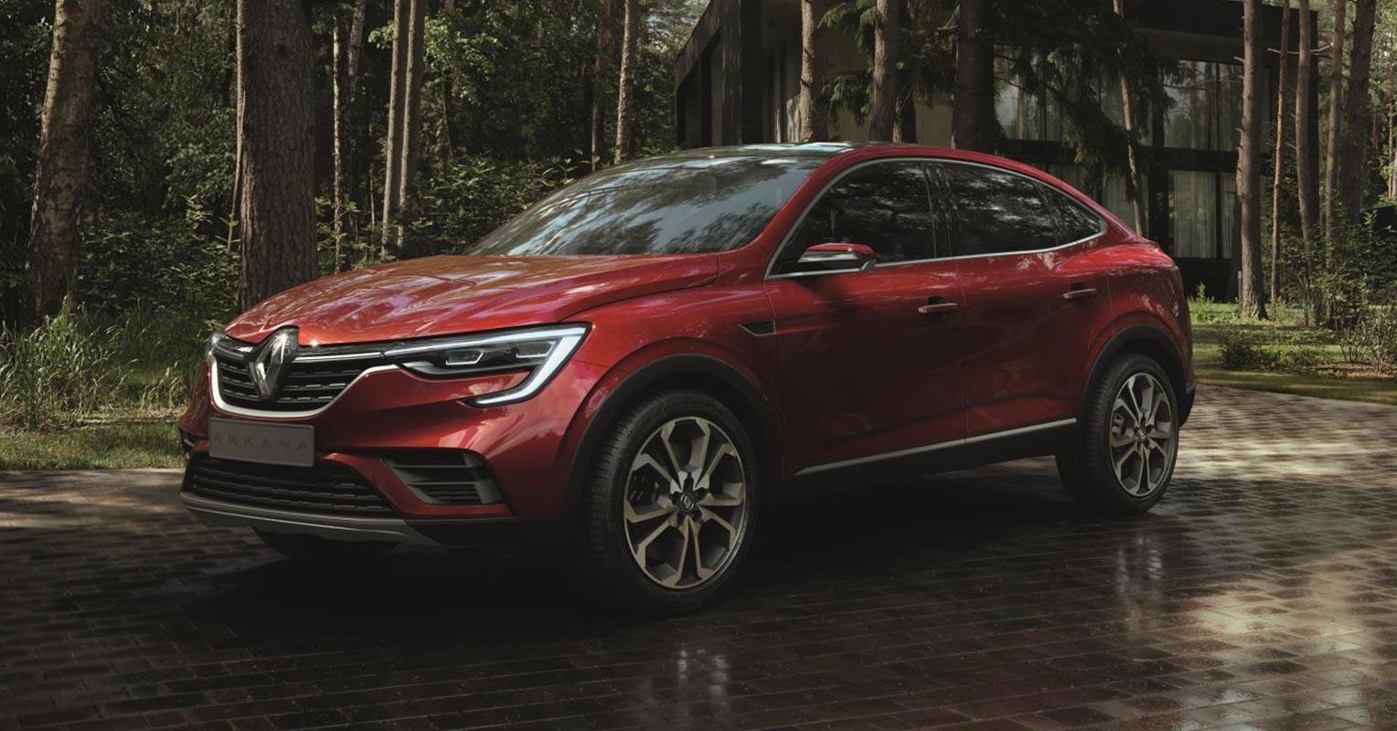 Trasera del Renault Arkana 2019