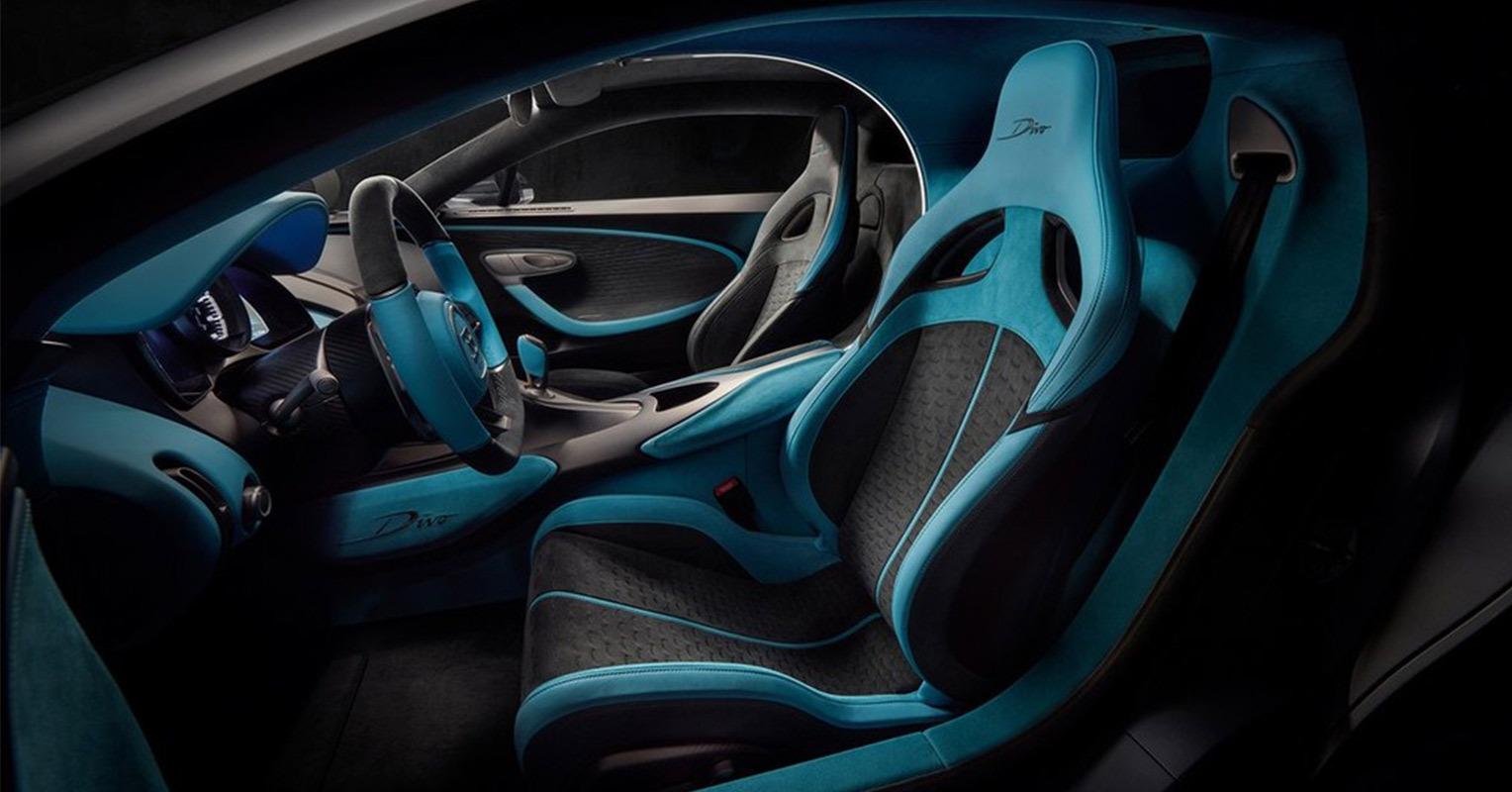 Interior del Bugatti Divo