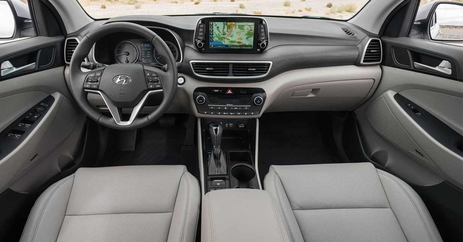 Interior del Hyundai Tucson 2019