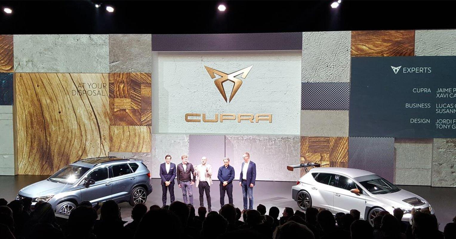 Presentación Cupra