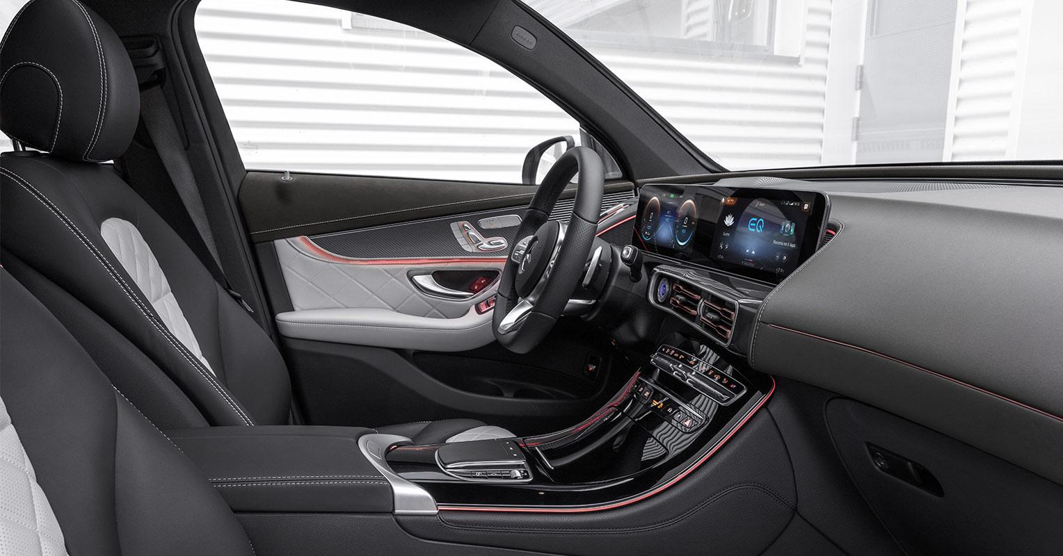 Asientos del Mercedes EQC