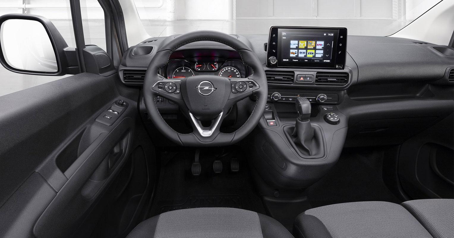 Interior Opel Combo 2018