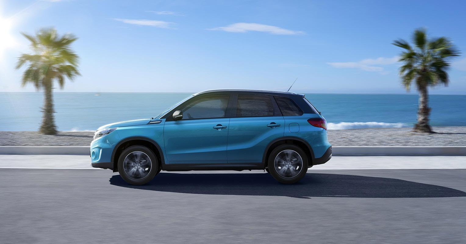 Lateral del Suzuki Vitara 2018