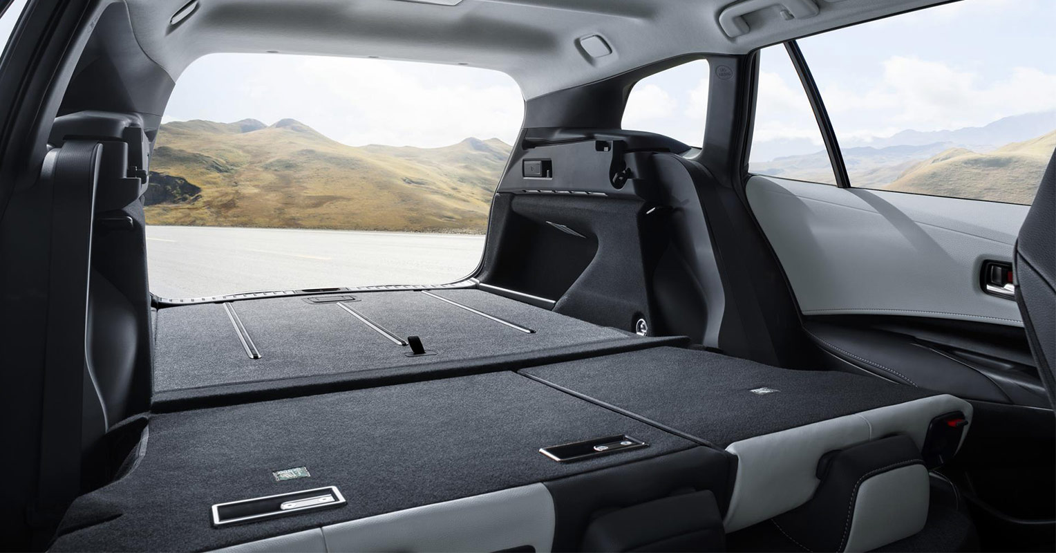 Maletero del Toyota Corolla Hybrid Touring Sports