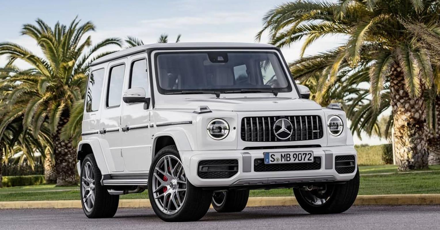 Frontal del Mercedes Clase G