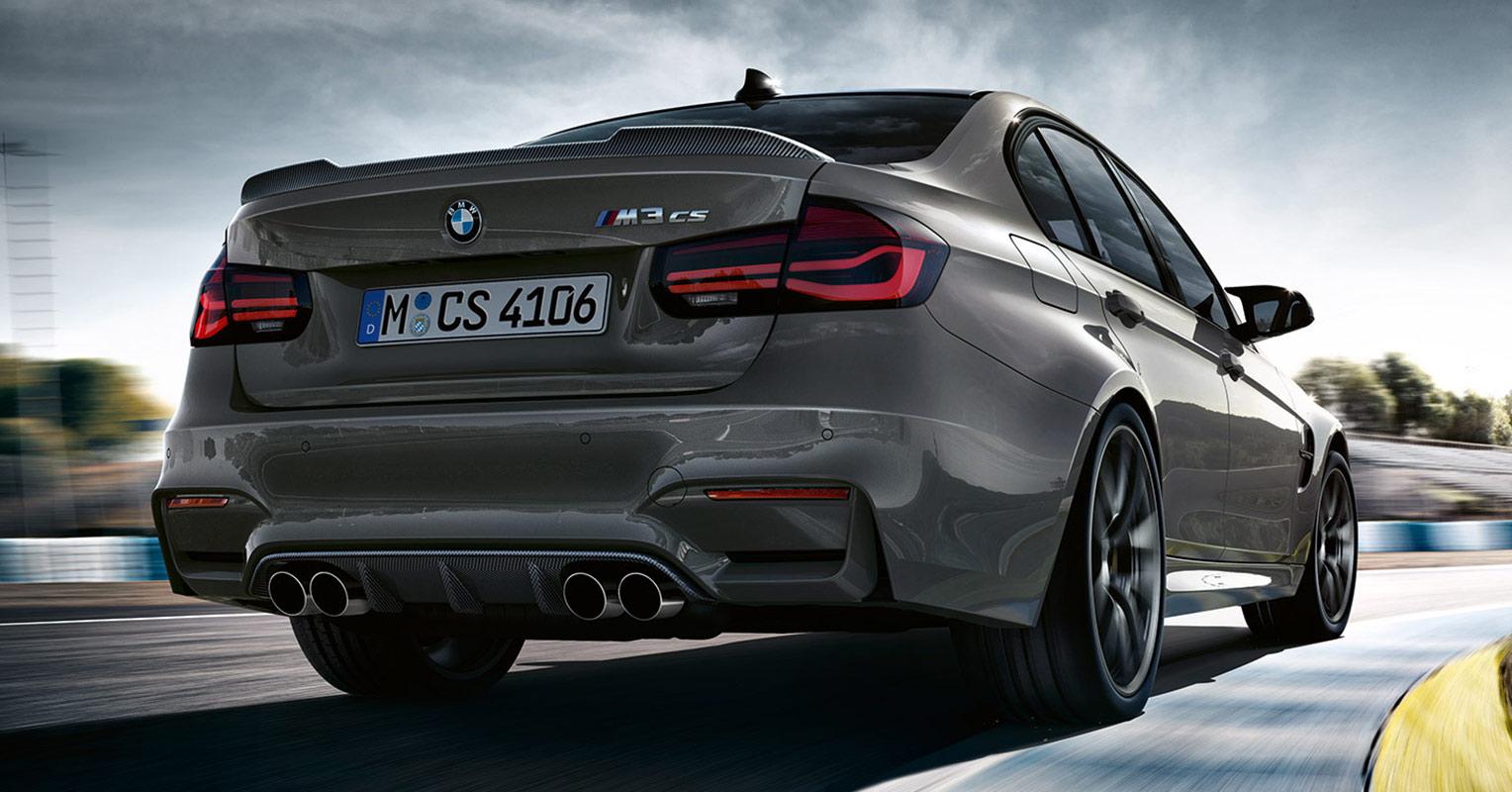 Trasera del BMW M3 CS