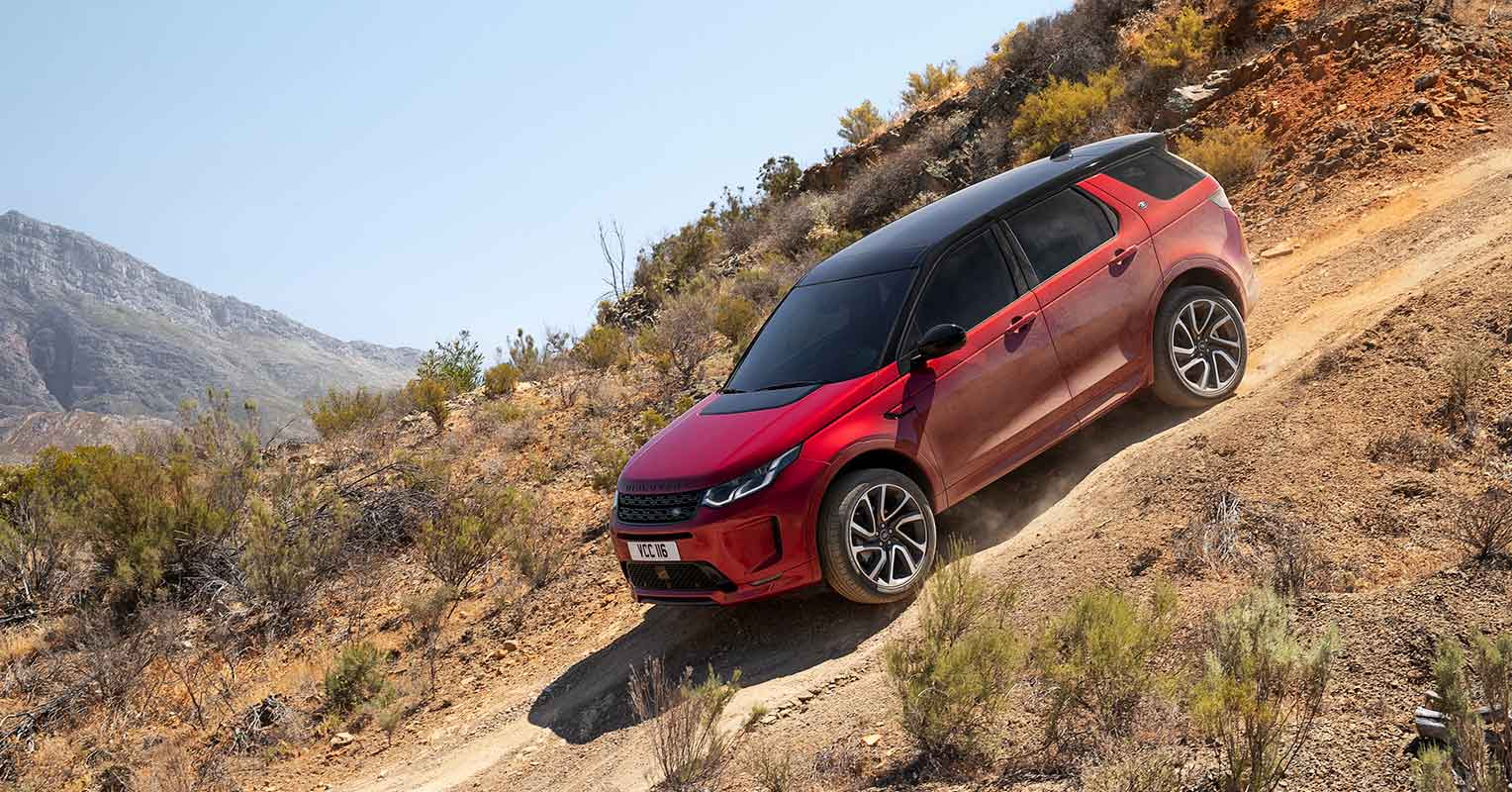 2020 Land Rover Discovery Sport Model