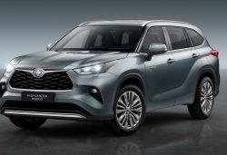 Toyota Highlander 2021: características, fecha y precios